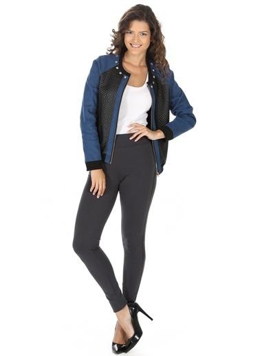 Vero Moda Vero Moda 10118400 Kadın Pantolon Gri